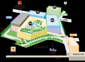 西宮ガーデンズフロアマップ